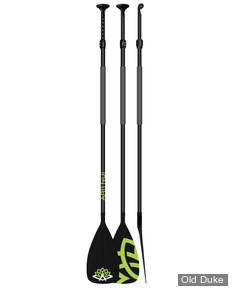PAGAIES DE STAND UP PADDLE - AJUSTABLE - LONGUEUR : 170 A 210CM / 2 PARTIES / MEN - ARI'INUI - POLYCARBONATE / ALUMINIUM -