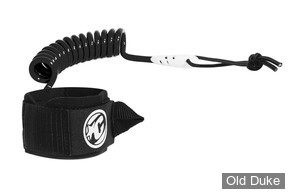 LEASH DE BODYBOARD - POUR POIGNET - CREATURES OF LEASURE - COILED WRIST CUFF - NOIR