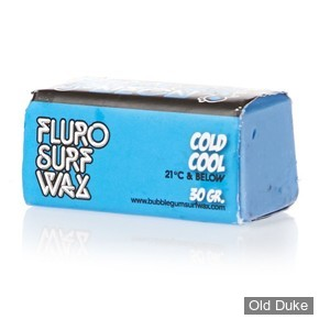 TOP COAT / SURF WAX - COOL - TEMPERATURE : 21° OU MOINS - BUBBLE GUM - NEON SURF WAX - COULEUR : BLEU