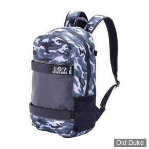 SAC A DOS - 187 KILLER PADS -  STANDARD ISSUE BACKPACK - COULEUR : CHARCOAL CAMO