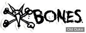 "AUTOCOLLANT / DECAL - BONES - VATO TEXT 6"" - COULEUR : BLANC"