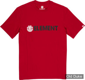 TEE-SHIRT - ELEMENT - BLAZIN SS TEE - CHILI PEPPER - TAILLE : L