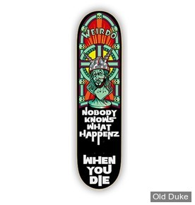 """DECK - 7.75"""" / 31.12"""" - FACTS OF LIFE RED CORE SERIES DECK - WEIRDO"""