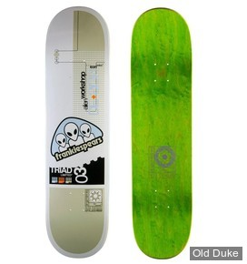 "DECK - 8.25"" / 32.25"" - PRO DECK ICONE TRIADE FRANKIE SPEARS - ALIEN WORKSHOP"