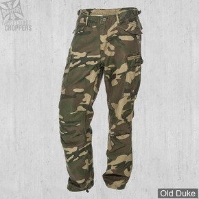 PANTALON - WEST COAST CHOPPERS - WCC M-65 Cargo Pants - CAMOUFLAGE - TAILLE : M