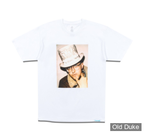 TEE-SHIRT - DIAMOND - DMND X KEITH HARING IN HAT TEE - WHITE