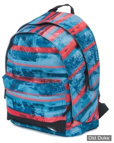 SAC A DOS - RIP CURL - OCEAN GLITH RED DOUBLE DOME - RED