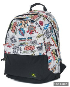 SAC A DOS - RIP CURL - HERITAGE LOGO DOUBLE DOME - MULTICO