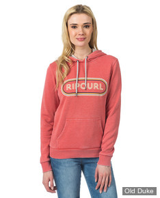 SWEAT A CAPUCHE - RIP CURL - PIXLEY FLEECE - FADED ROSE - TAILLE : XS