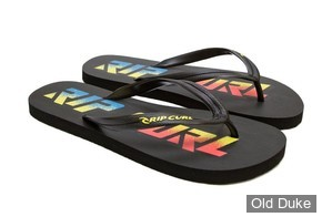 TONG - RIP CURL - LINE UP - BLACK / LIME