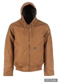 VESTE - DICKIES - JEFFERSON ZIP UP DUCK JACKET - COULEUR : MARRON / BROWN DUCK - TAILLE : M