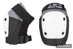 KIT DE PROTECTION - 187 KILLER PADS - GENOUILLERES FLY  KNEE - GREY/BLACK/WHITE - TAILLE