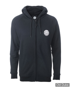 SWEAT SHIRT ZIPPE A CAPUCHE - RIP CURL - WARMFLEECE 100% SURF - BLACK / NOIR - TAILLE : M