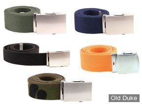 CEINTURE - WEB BELT - CANVAS