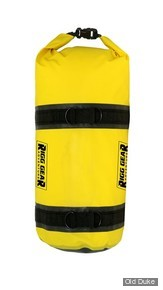 SAC ETANCHE - NELSON RIGGS - Adventure Dry Roll - CAPACITE : 15 litres - COULEUR : JAUNE & NOIR