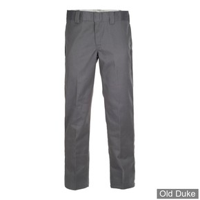 PANTALON - DICKIES - 873 - SLIM STRAIGHT WORK PANTS - CHARCOAL GREY / GRIS - TAILLE : 32 / 32