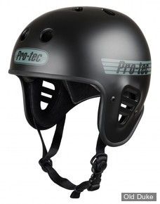 CASQUE DE PROTECTION - PRO-TEC - FULLCUT CERTIFIED -  NOIR MAT