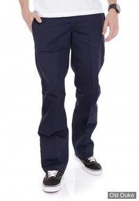 PANTALON - DICKIES - 873 - SLIM STRAIGHT WORK PANTS - DARK NAVY / BLEU MARINE - TAILLE : 38 / 34
