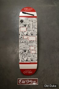 "DECK - 8.125""/31.85"" - MONCORGEM ""HELLO MY BLAZE IS"" - OLDDUKE"
