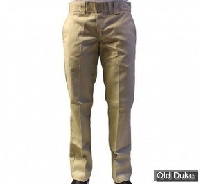 PANTALON - DICKIES - 873 - SLIM STRAIGHT WORK PANTS - KAKI - TAILLE : 34 / 34