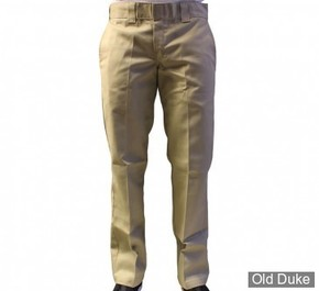 PANTALON - DICKIES - 873 - SLIM STRAIGHT WORK PANTS - KAKI - TAILLE : 36 / 34