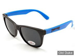 LUNETTES THRASHER MAGAZINE - Neon Blue Thrasher Sunglasses - BLEU / NOIR