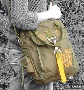 SAC BANDOULIERE - FOSTEX - DEPLOYMENT BAG #4 - VERT OLIVE