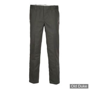 PANTALON - DICKIES - 873 - SLIM STRAIGHT WORK PANTS - OLIVE GREEN / VERT OLIVE - TAILLE : 34 / 32