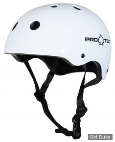 CASQUE DE PROTECTION - PRO-TEC - CLASSIC CERTIFIED  - GLOSS WHITE