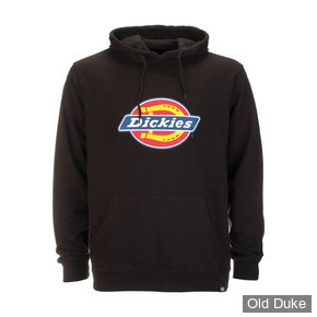 SWEAT SHIRT A CAPUCHE - DICKIES - SAN ANTONIO  - NOIR -