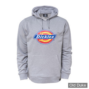 SWEAT SHIRT A CAPUCHE - DICKIES - SAN ANTONIO  - GRIS CHINE - TAILLE : L