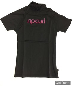 LYCRA  ENFANT - RIP CURL - LIVE THE SHEARCH - BLACK - TAILLE : 10 ANS