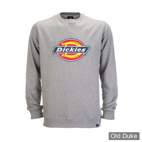 SWEAT SHIRT  - DICKIES - PITTSBURGH  - GRIS CHINE - TAILLE : L