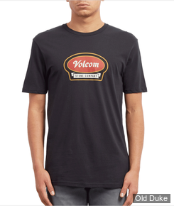 TEE-SHIRT - VOLCOM - CRESTICLE BSC SS - BLACK - TAILLE : M