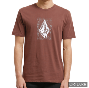 TEE-SHIRT - VOLCOM - DRIPPIN OUT BSC SS - BORDEAUX