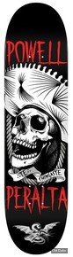 "DECK - 8.50"" / 32.08"" - CHINGASTE WHITE - POWELL PERALTA"