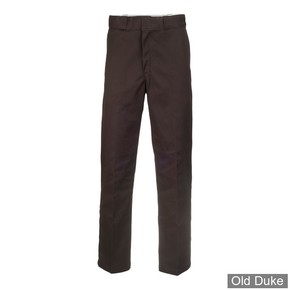 PANTALON - DICKIES - 874 - ORIGINAL WORK PANTS - DARK BROWN / MARRON FONCE - TAILLE : 32 / 34