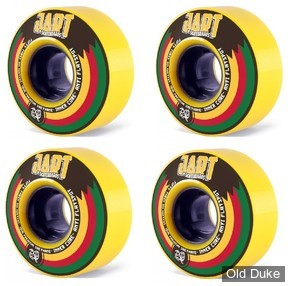 ROUE DE SKATE - D / 54MM - JART SKATEBOARD - KINGSTON 54MM