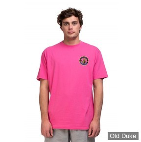TEE-SHIRT - BODY GLOVE - NEON INTERNATIONAL TEE - ROSE - TAILLE : L