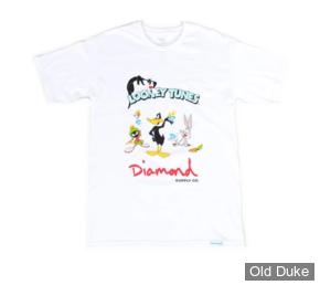 TEE-SHIRT - DIAMOND - DMD X LOONEY TUNES - LOONEY TUNES TEE - WHITE - TAILLE  : M