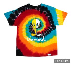 TEE-SHIRT - DIAMOND - DMD X LOONEY TUNES - TIE DYE X RAY TEE - TIE DYE - TAILLE  : M