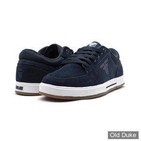SKATE SHOES - FALLEN - PATRIOT - INSIGNIA BLUE WHITE
