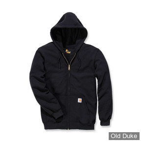 SWEAT SHIRT ZIPPE A CAPUCHE - CARHARTT - ZIP HOODED - BLACK