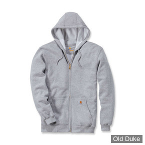 SWEAT SHIRT ZIPPE A CAPUCHE - CARHARTT - ZIP HOODED - HEATHER GREY