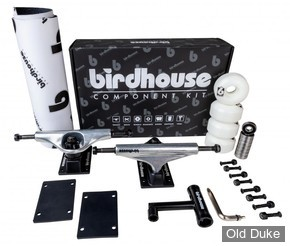 "KIT TRUCKS - BIRDHOUSE - COPONENT KIT 5.25"" - SILVER"