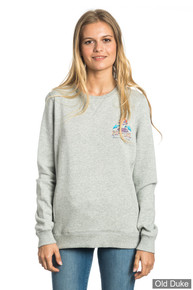 SWEAT  FEMME - RIP CURL - ACTIVE ART FLEECE - FOGGY MARLE
