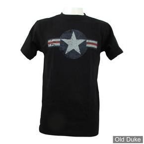TEE-SHIRT - FOSTEX - AIR FORCE STAR & BARS - NOIR - TAILLE : XL