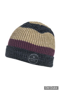 BONNET - RIP CURL - CHILL OUT BEANIE - BLACK - COULEUR : NOIR RAYE