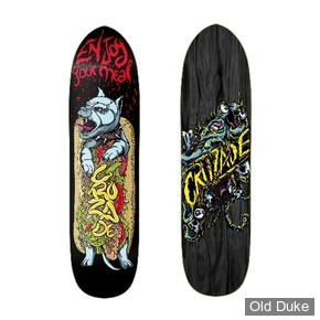 "DECK - 8.5"" - HOT DOG - CRUZADE SKATEBOARD"