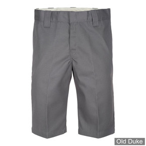 """SHORT - DICKIES - 13"""" SLIM FIT WORK SHORTS - CHARCOAL GREY / GRIS -  TAILLE US : 33"""